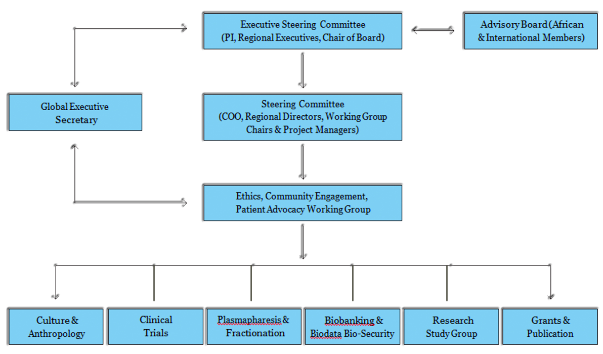 GETAfrica governance structure