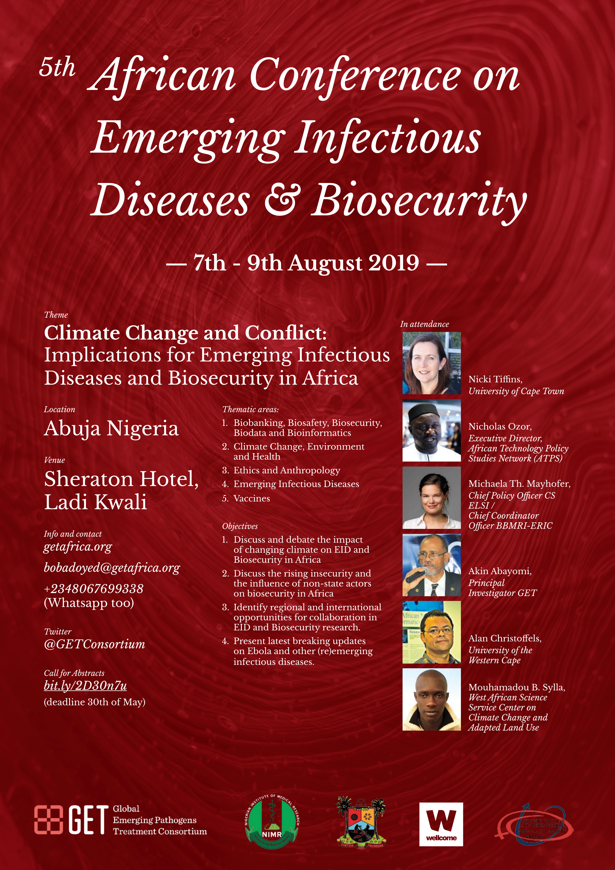 5th African Conference on Emerging Infectious Diseases