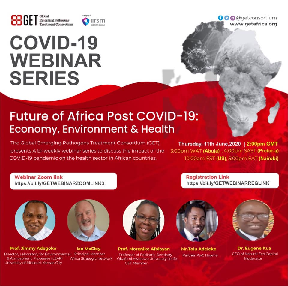 Future of Africa Post Covid-19 Economy Environment on health -June 2020